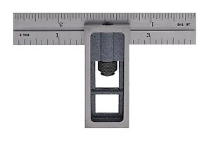 PEC Double Square 4 Inch 4R 2 pc Reads 8 16 32 64 Gray Second USA 7104 404 $25.98