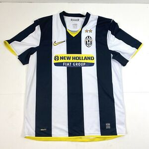 Nike Fit Dry Bianconeri Juventus Mens Large New Holland Fiat Group Football $49.95