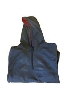 under armour hoodie large gray $18.00