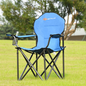 Portable Folding Camping Chair Outdoor Beach Fishing Picnic Camping Heavy Duty