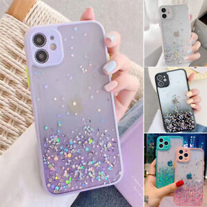 SHOCKPROOF Glitter Bling Clear Case iPhone 11 Pro Max XR XS Max 7 8 Plus Cover