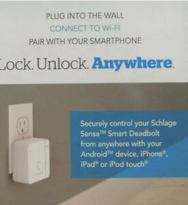 Schlage Sense Wi Fi Adapter White New