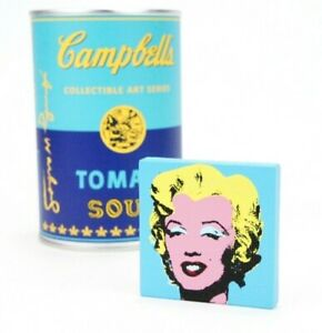Kidrobot Andy Warhol Soup Can Series 1 Marilyn Monroe Pop Art Campbell#x27;s Tomato $29.99
