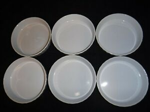 Lot of 6 Made in France Creme Brulee Dishes Revol E69 1