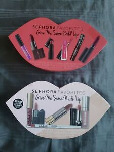 2 SEPHORA FAVORITES Give Me Some NUDE amp; Bold Lip Set Gift Box Empty Boxes