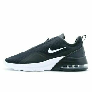 Nike Air Max Motion 2 Mens Running Shoes AO0266 012 Black White New In Box $79.95