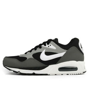 Nike Air Max Correlate Men#x27;s Running Shoes 511416 011 Black White Grey NEW