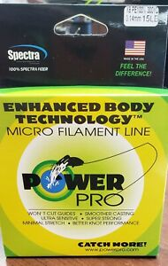 Power pro braided fishing line 15lb 300 yard 8 Strand