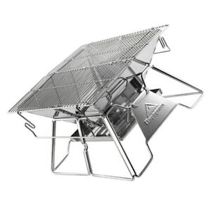 1 Set of Foldable Barbecue Rack Camping Grill Rack for Home Party BBQ Travel