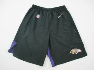 Baltimore Ravens Nike Shorts Mens Black Purple Dri Fit Used Multiple Sizes $20.80