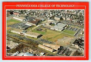 WILLIAMSPORT PA Aerial Pennsylvania COLLEGE OF TECHNOLOGY 4quot;x6quot; Postcard $5.93