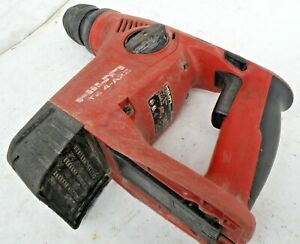Hilti TE 4 A22 Cordless Combihammer 22v Used Good Con Fully Tested Free Samp;H