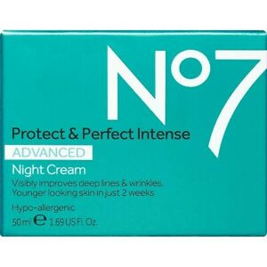 No7 Protect amp; Perfect Intense Advanced Night Cream. 1.69 US Fl oz