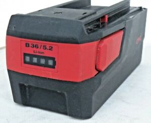 HILTI B36 5.2 Li Ion 36v 5.2ah Battery Good Condition Used Excellent Free Samp;H