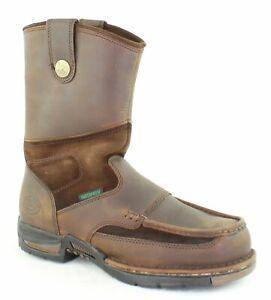 Georgia Boots Mens Athens Wellington Brown Work amp; Safety Boots Size 9.5 Wide
