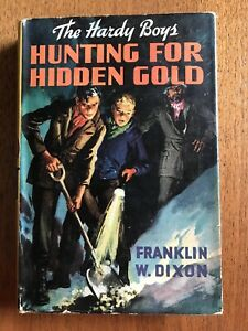 Hardy Boys: Hunting for Hidden Gold 1928 HC Book with Dust Jacket