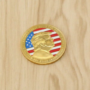 3pcs Donald Trump 2020 BUILD THE WALL TO KEEP AMERICA GREAT Coin Commemorative $7.98