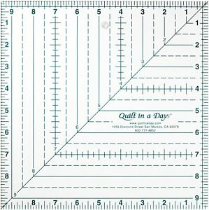 Quilt in a Day 9 1 2 Inch by 9 1 2 Inch Square Up Ruler $25.95