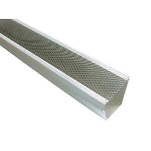 5 in. x 4 ft. armour screen lock on gutter guard 25 pro pack aluminum metals $63.00