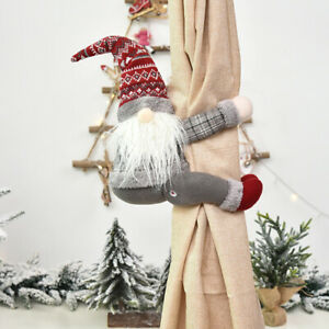 Christmas Doll Curtain Buckle Holder Tieback Santa Window Decor Newest Useful $10.19