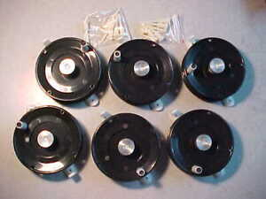 6 NEW HT LITTLE JIGGER ICE FISHING REELS for jigs rods tip down PANFISH