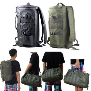 Outdoor Portable Fishing Backpack Tackle Fishing Storage Bag Cylindrical