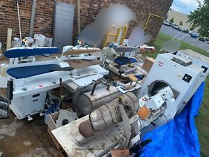 Huge Lot Dry Cleaning Equipment PU Only $30000.00