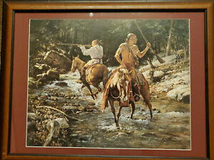 Robert Griffing quot;Caught in Midstreamquot; SOLD OUT #421 950 signed and numbered $350.00