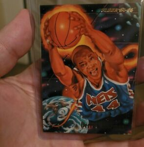 1994 Fleer Derrick Coleman On The Rise 4 Of 9 Awesome Looking Card