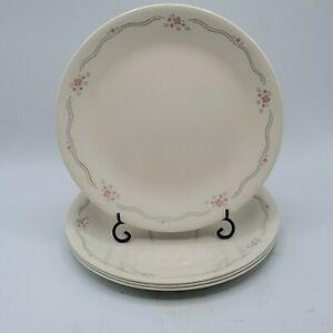 Vintage of 4 Corelle English Breakfast Luncheon Plates 8.5quot; NICE $14.99