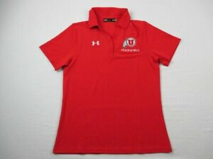 Utah Utes Under Armour Polo Womens Red New without Tags $9.50