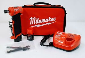 Milwaukee 2485 22 M12 Fuel 1 4quot; Right angle Die Grinder Kit $239.99
