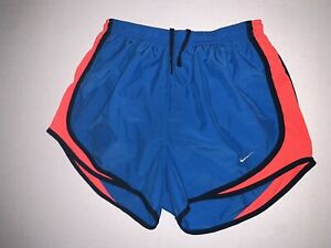 womens nike dri fit shorts small With Liner Blue And Pink $15.00