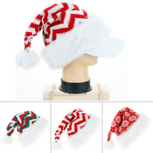 Santa Hats Adult Holiday Party Decoratives Supplies Accessories Useful $8.16