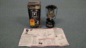 Preowned Vintage Coleman Lightweight Lantern Model 222B7101 with Manual and Box