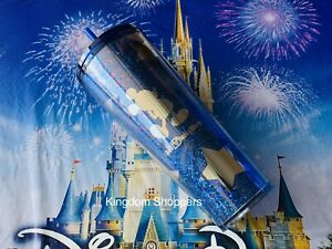 NEW Mickey Mouse Tumbler with Straw Starbucks Walt Disney World Blue Exclusive $49.95