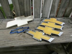 6 CHEVROLET EMBLEMS 4 NEW