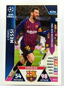 Lionel Messi Match Attax Champions League On Demand 2018 2019 Barcelona OD35 GBP 14.95