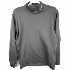 Nike Fit Therma High Collar Long Sleeve Shirt Size XXL Activewear $19.99