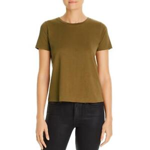 Eileen Fisher Womens Cotton Round Neck Tee T Shirt Top BHFO 8767 $11.99