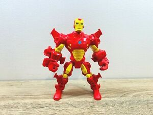 Iron Man Red Armour Armor Super Hero Mashers Action Figure The Avengers Classic AU $29.00