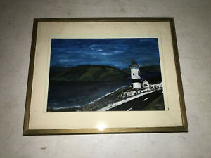 Watercolor Lighthouse Painting by Hugh? $49.99