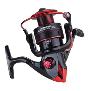 Powerful 12BB Spinning Fishing Reels 18LBs Max Drag for Saltwater or Freshwater