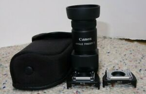 Canon Angle Finder C 1.25X 2.5X with Case and Adapters $69.99