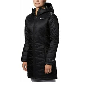 Columbia Womens Mighty Lite Hooded Jacket 2X Thermal Reflective Insulated Coat