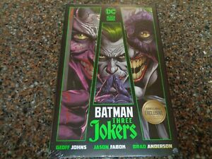 Batman: Three Jokers Hardcover Sealed Bamp;N Exclusive 3 Bonus Lithographs DC