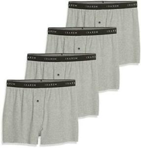 Brand Meraki Men#x27;s Jersey Boxers with Fly Pack Grey Size EU M US M $9.99