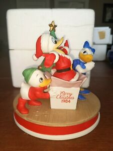 Merry Christmas 1984 The Disney Collections Donald Ducks 50th Anniversary $25.99