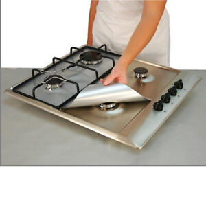 Reusable Gas Hob Protector Sheet Burner Cover Anti oil Oven Liner Easy Clean $5.22