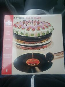 Rolling Stones Let It Bleed RSD Black Friday Rare Hand Poured Only 900 Exist $500.00